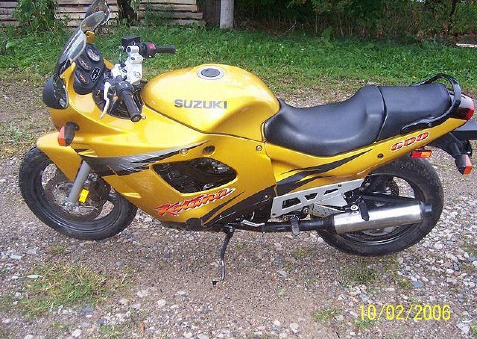 1997 Suzuki GSX 600 F - Moto.ZombDrive.COM