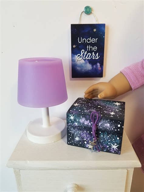 custom order  kristina galaxy treasure box room decor