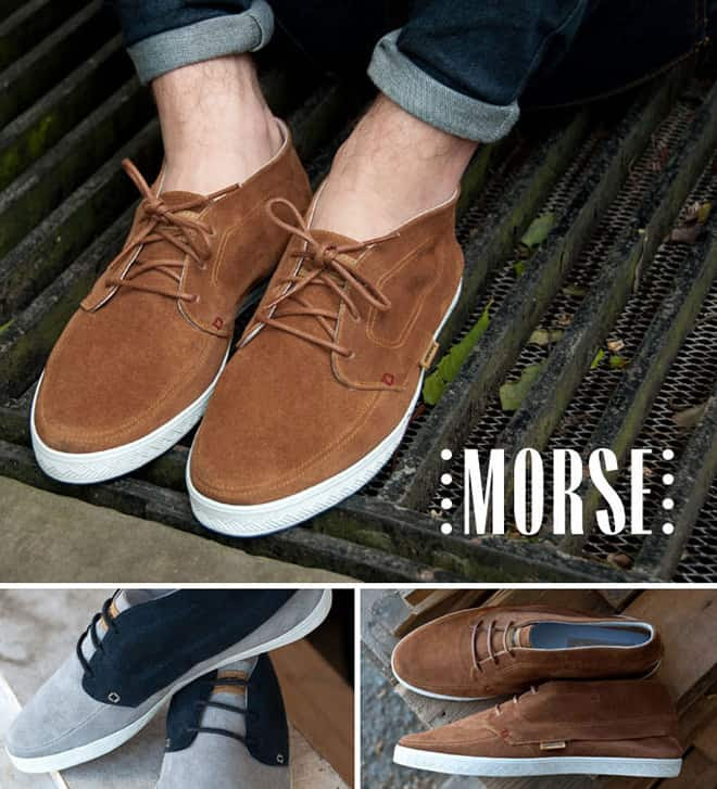 Supremebeing Footwear SS12 Collection morse