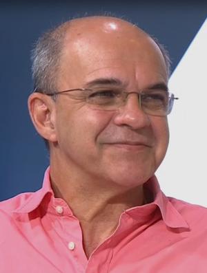 Eduardo Bandeira de Melo, presidente do Flamengo (Foto: Reprodução SporTV)