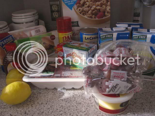 Safeway Grocery Haul