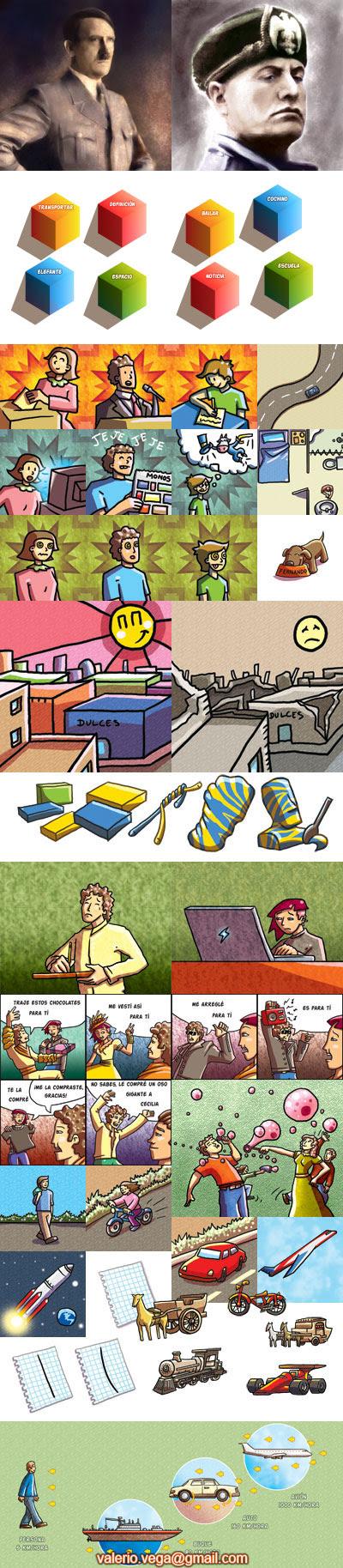 tareas e ilustraciones