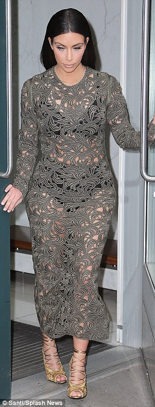 Can you Rock Kim Kardashian's Sheer Lace Gown ?