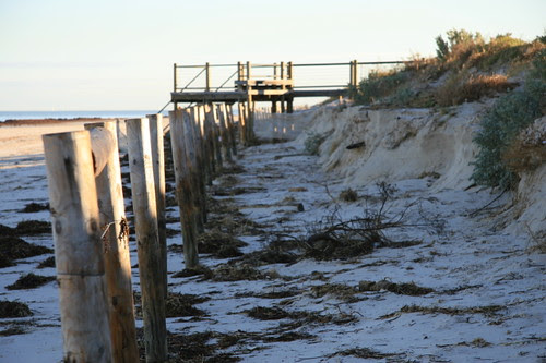 Semaphore beach after a King tide