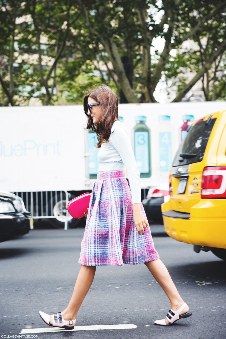 New_York_Fashion_Week_Spring_Summer_15-NYFW-Street_Style-Eleonora_Carisi-Midi_Skirt-Crop_Top-