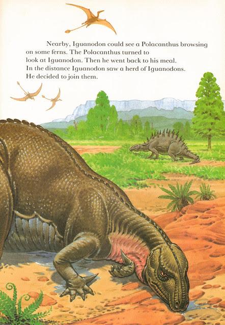 Exhausted Iguanodon