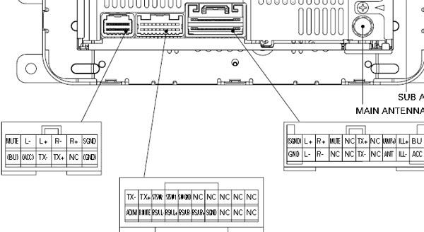 20 Inspirational Pioneer Deh X6800bt Wiring Diagram