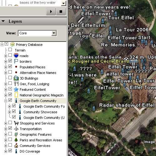 Google Earth图层的应用