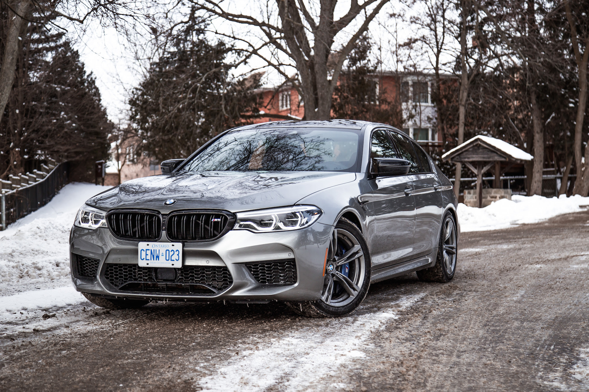 2019 Bmw M5 Donington Grey