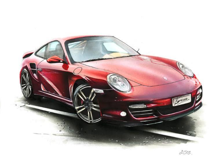39+ Malvorlagen Porsche 911 Turbo Images