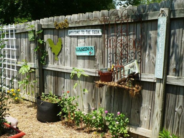 Fence Decorating Ideas