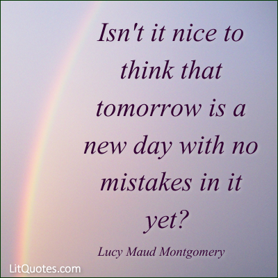 New Day Quote Photo Litquotes Blog