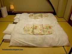 Ryokan - futon
