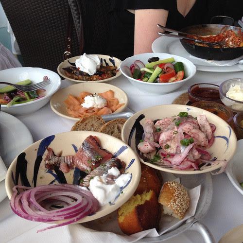 Breakfast @ Manta Ray, Israel