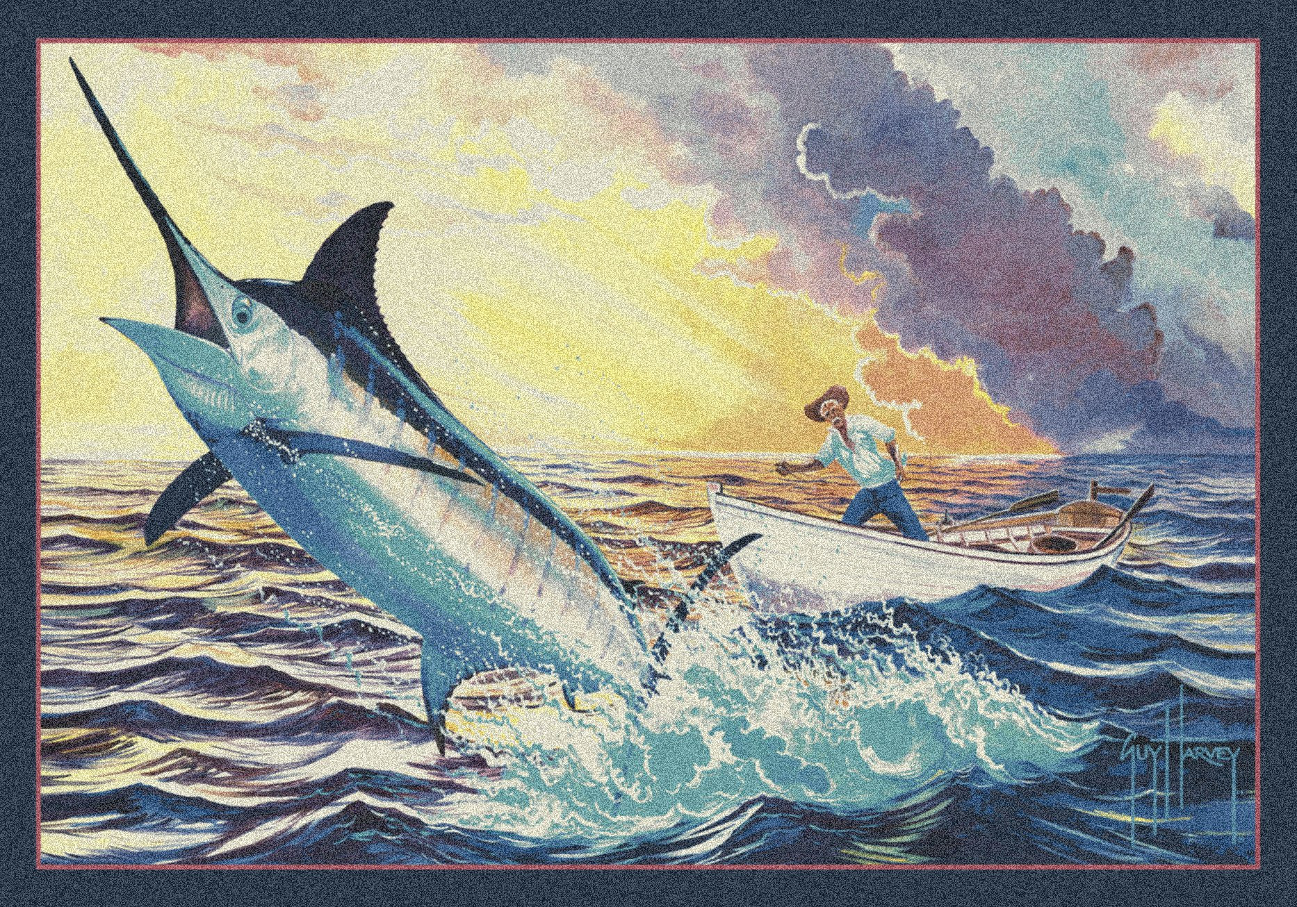 mydesignerrug.com||https://www.mydesignerrug.com/products/guy-harvey-old-man-and-the-sea-rug