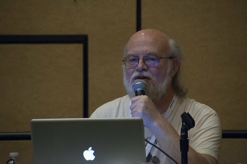 James Gosling, UGF10336 NetBeans Power Tools with James and Kirk, User Group Forum, JavaOne 2013 San Francisco