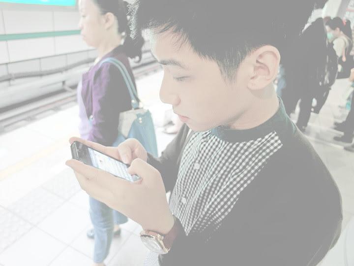 ran using iphone