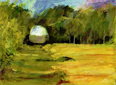 Contemporary Art Landscape Painting