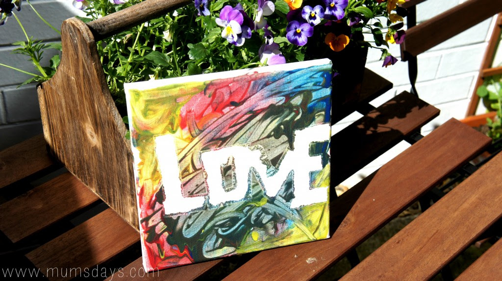 Fathers Day gift from a toddler! #toddler #fathersday #art #craft #DIY http://www.mumsdays.com/fathers-day-toddler-style/