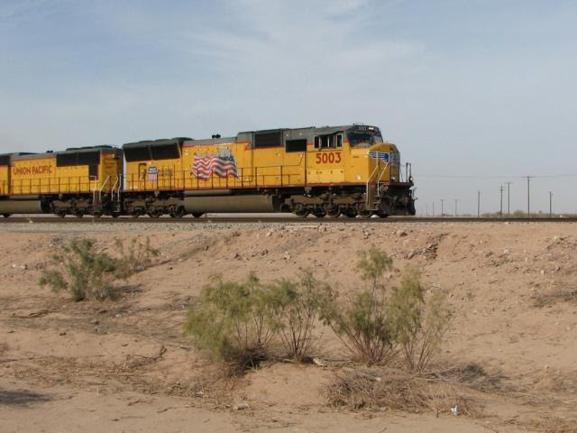 UP 5003 in Maricopa, AZ