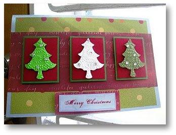 Christmas card ideas kids draw christmas card ideas on too many christmas trees i must say three christmas trees m4hsunfo