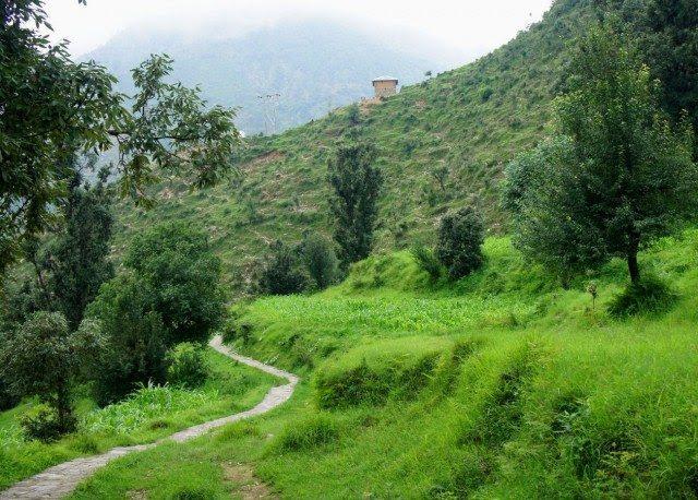 Nearing the roadhead & the fulfilling journey
