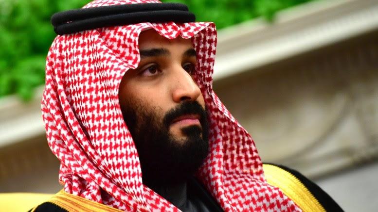 Crown Prince Mohammed bin Salman of the Kingdom of Saudi Arabia. 20 March 2018. EPA, KEVIN DIETSCH,  POOL