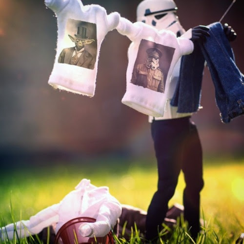 The Daily Life of a Miniature StormtrooperDarryll Jones
