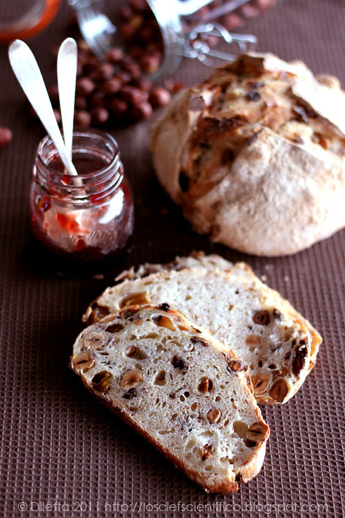 Hazelnut & Raisins Bread
