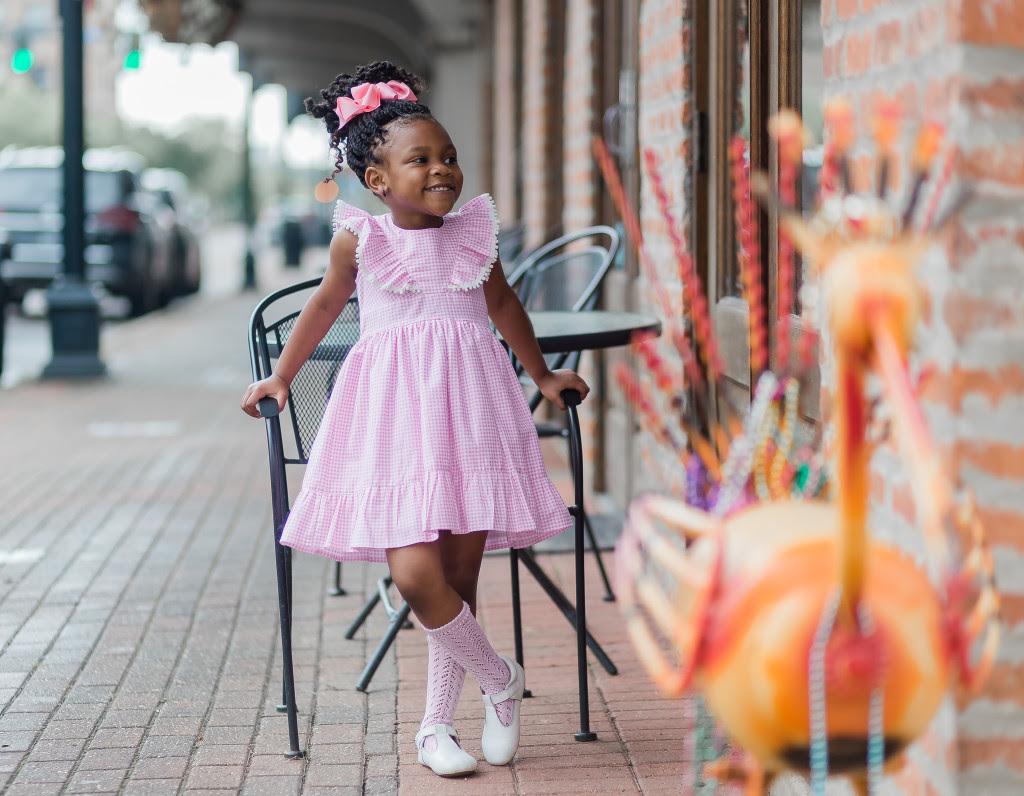 tilly_pink_gingham_pom_pom_cotton_dress_little_girls_9