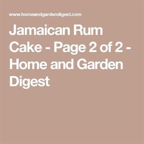 25  best ideas about Jamaican rum cake on Pinterest