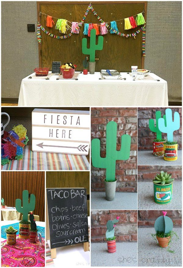 taco bar cactus relief society lds