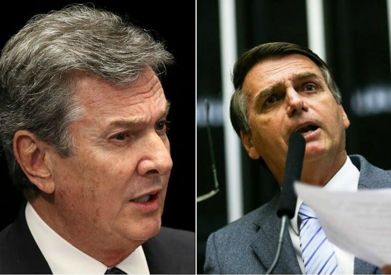 Collor diz que Bolsonaro segue o mesmo caminho do impeachment