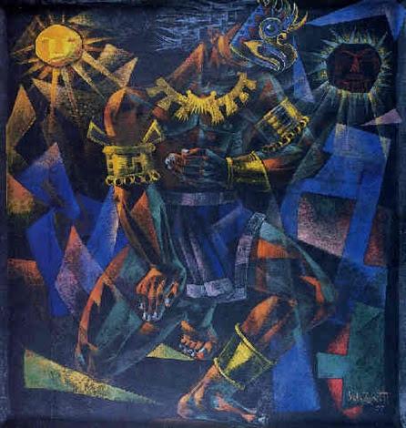 Guerrero Azteca By José Vela Zanetti On Artnet