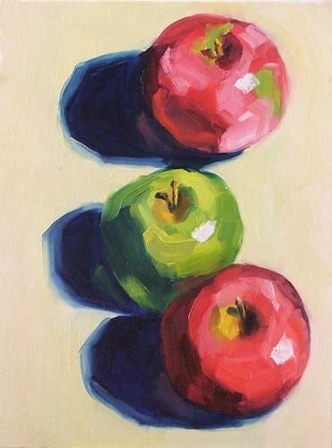 Three Apples, version 2.0
