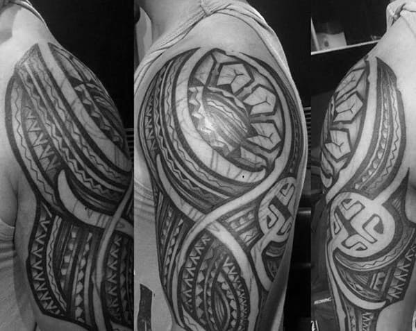 70 Filipino Tribal Tattoo Designs For Men Sacred Ink Ideas