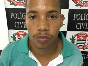 Deilson é suspeito de matar turista em Peruíbe (Foto: Divulgação/Polícia Civil)