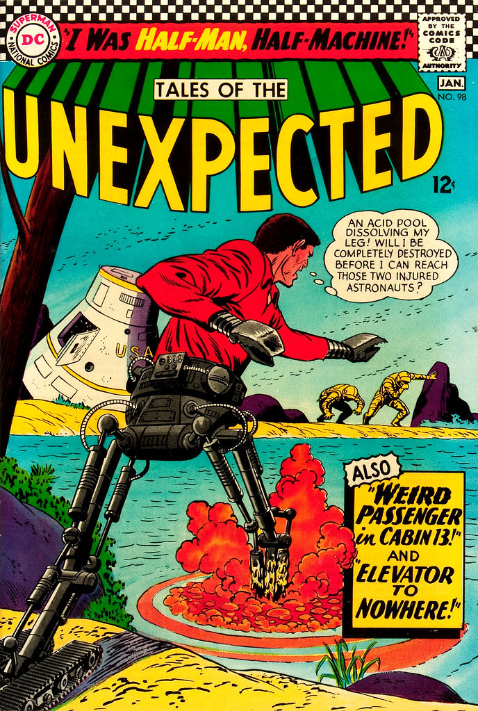 Tales of the Unexpected #98 (DC, 1966) Bernard Baily cover
