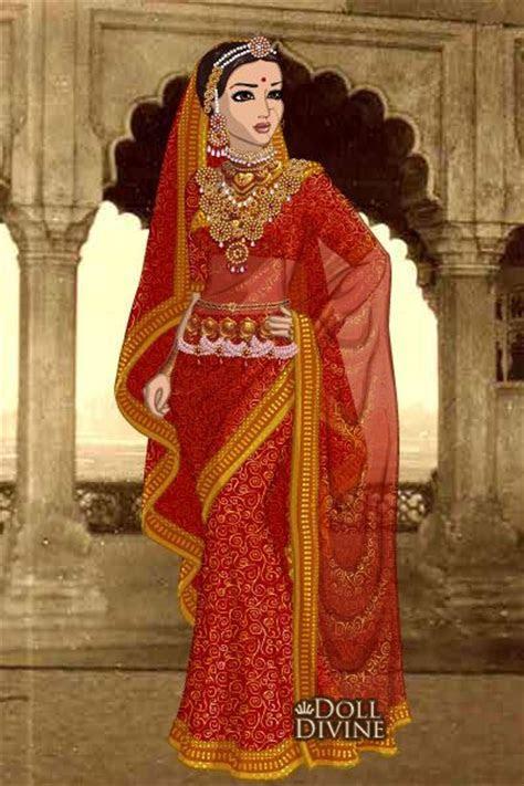Jodha bai ~ by kaurwaki ~ created using the Sari doll