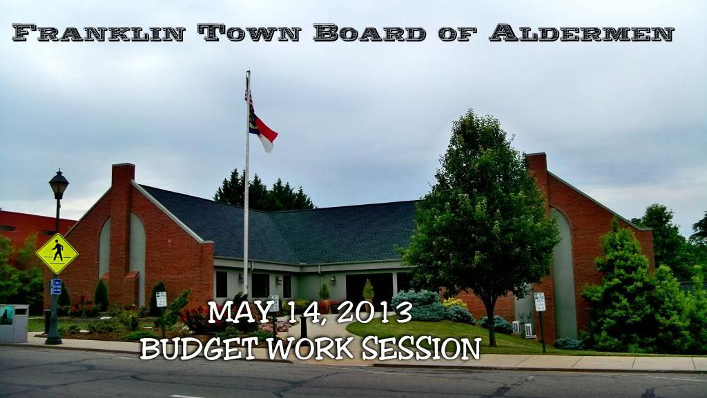 Town of Franklin Budget Work Session