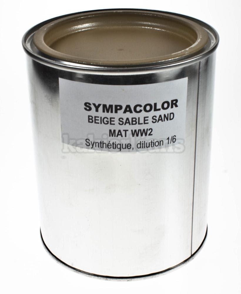 Peinture En Pot 1 Litre Sympacolor Dans Rayontitre