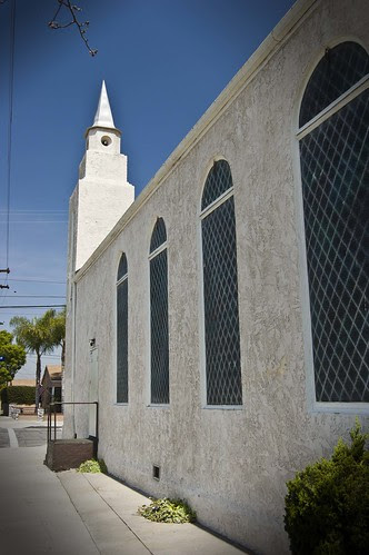 church back