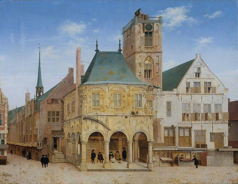 File:Saenredam - Het oude stadhuis te Amsterdam.jpeg