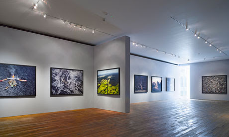 Light relief … a view of the fifth floor of the Photographers' Gallery in London