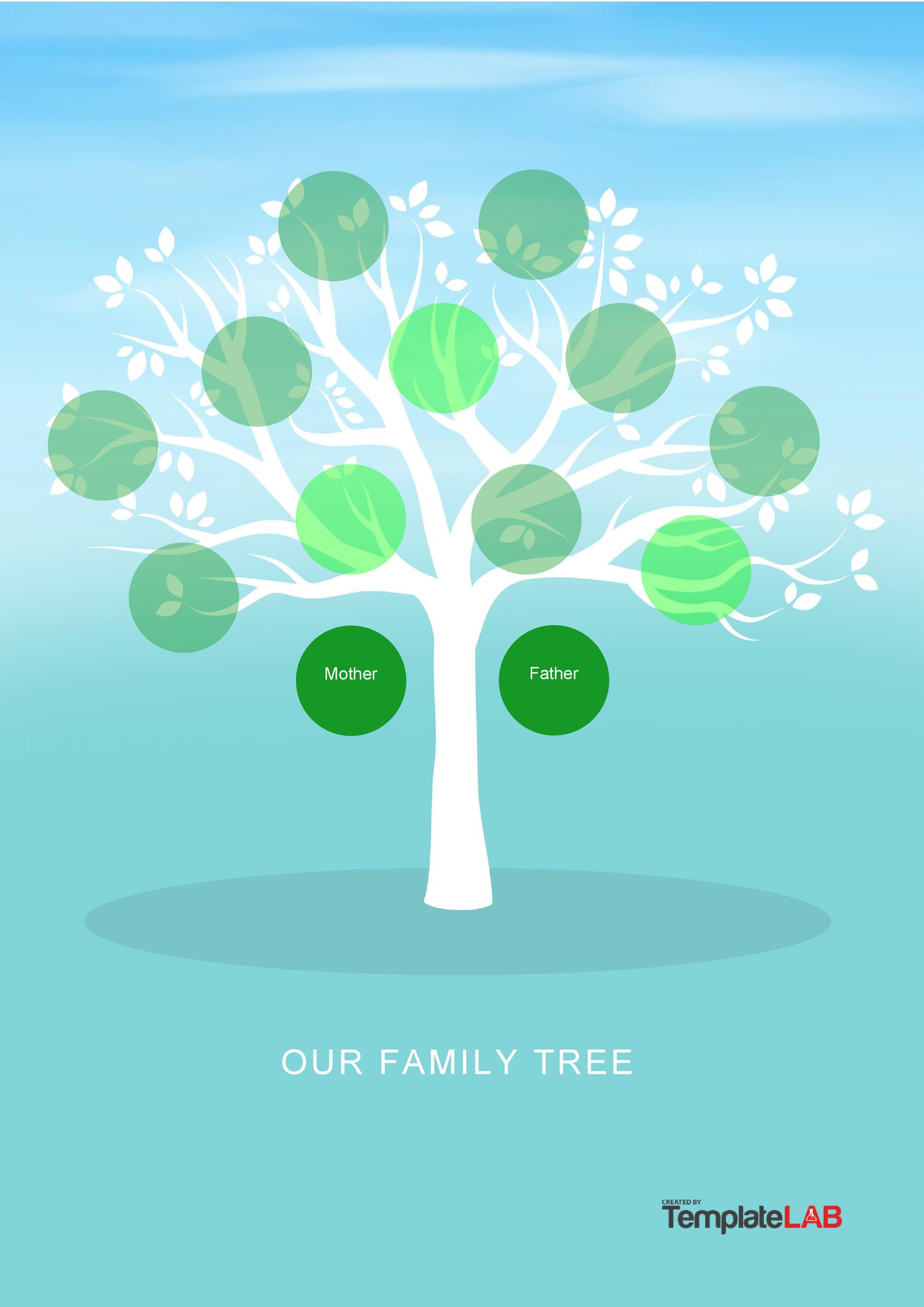 50 Free Family Tree Templates Word Excel Pdf Template Lab