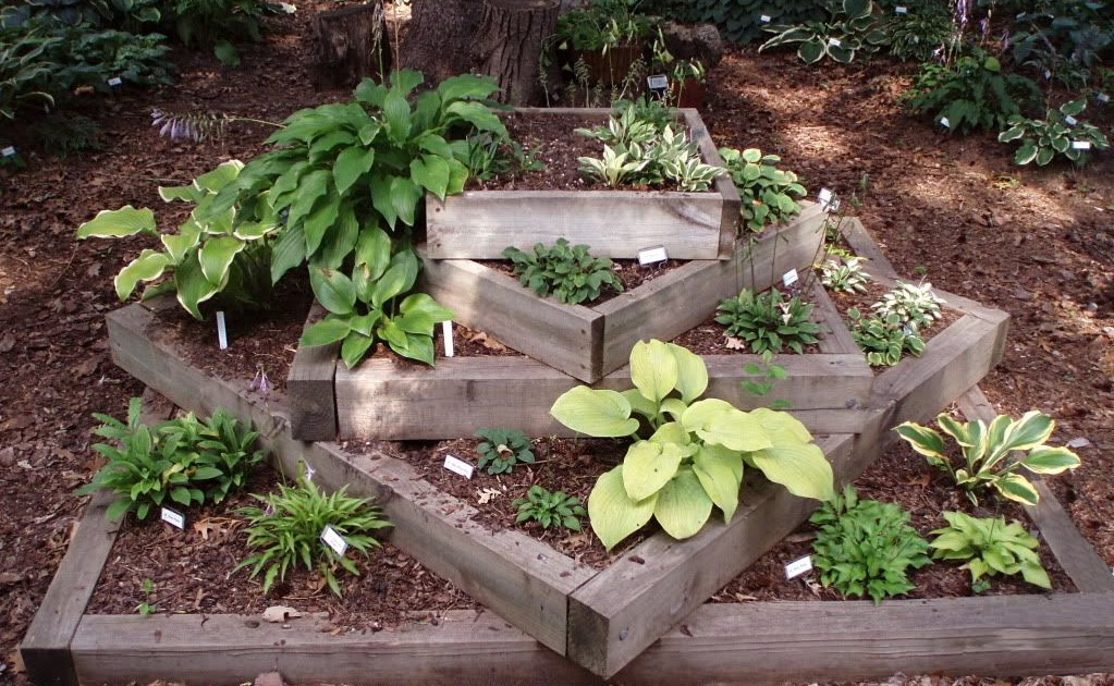 Fast Design Landscaping With Railroad Ties For Steps