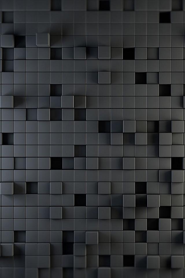 Gray Squares iPhone Wallpaper HD