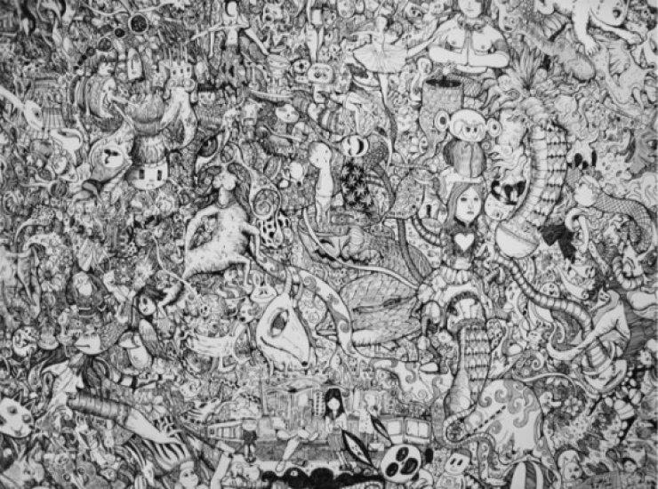 A inacreditável arte de Sagaki Keita 07