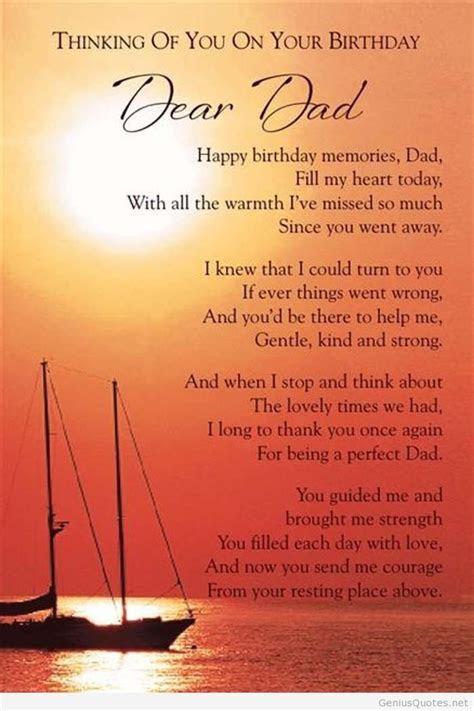 happy birthday quotes   dad  heaven image quotes