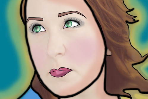 Elizabeth McQuern sketch portrait